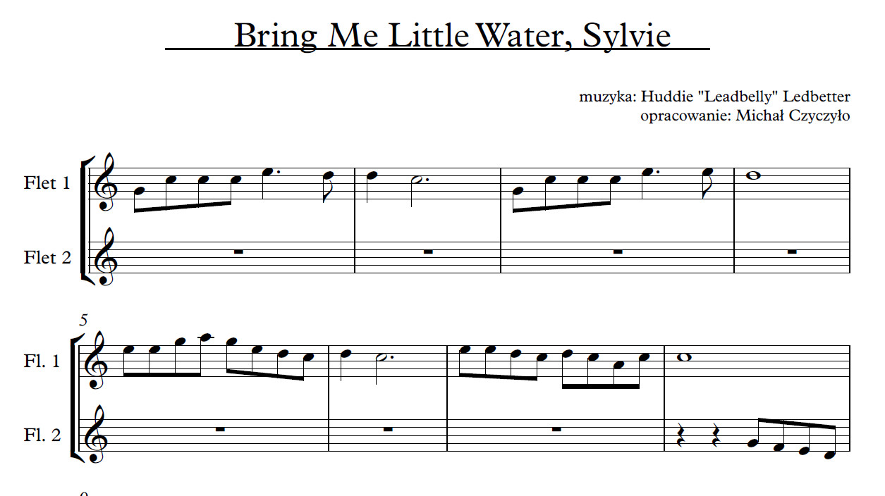 Bring Me Little Water, Sylvie